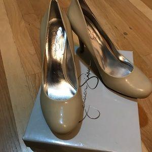 Jessica Simpson Shoes - Nude pumps